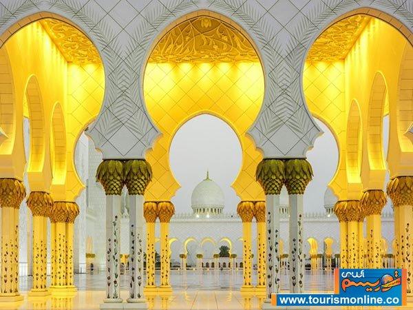 عکس/ یکی از زیباترین مساجد دنیا