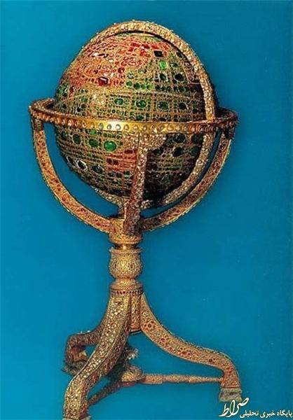 کُره جواهر نشان ایران در کجا نگهداری میشود؟ +عکس