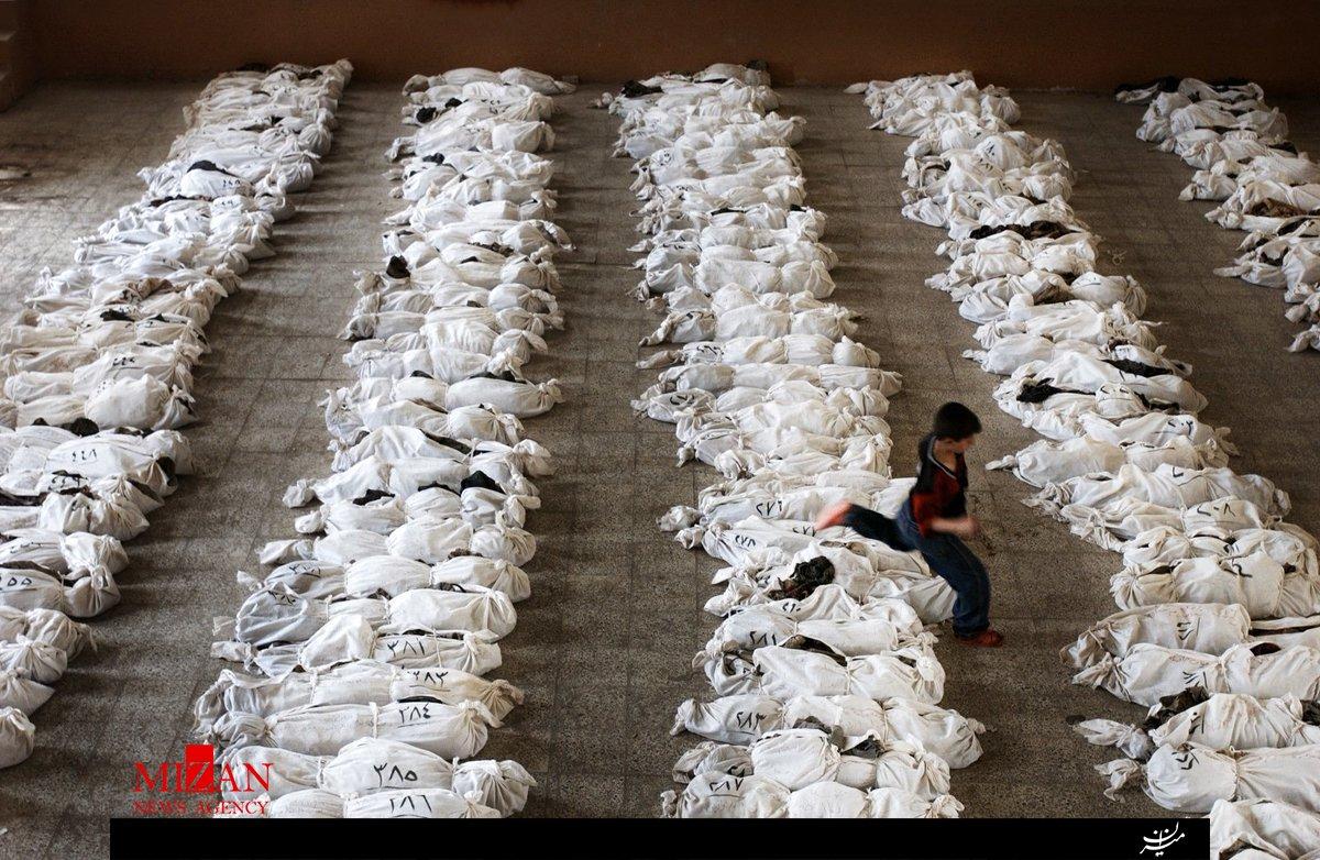 عکس تکاندهنده از قربانیان تروریسم(16+)
