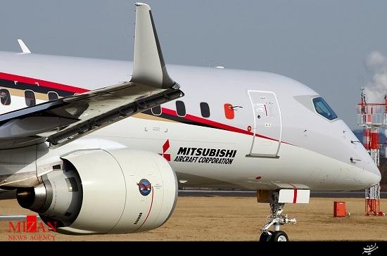 عکس/ هواپیمای ژاپنی که ایران آن را میخرد