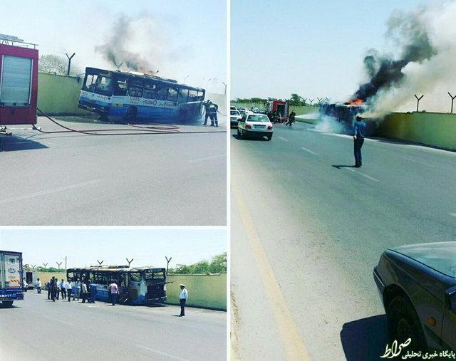 خطر از بیخ گوش مسافران بوشهری گذشت +تصاویر