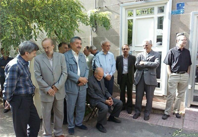 مراسم تشییع پیکر همسر محسن آرمین برگزار شد +عکس