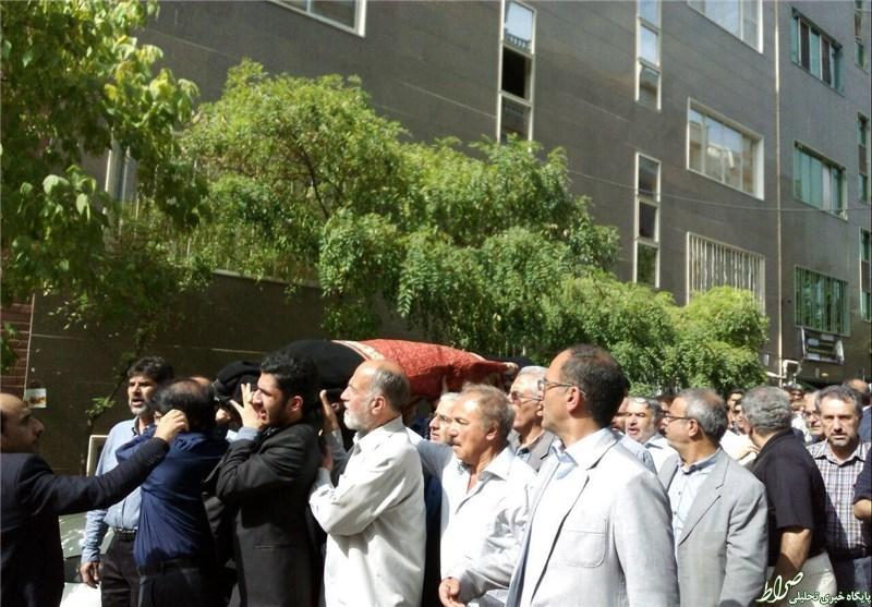 یک تشییع جنازه با حضور محکومان فتنه +عکس