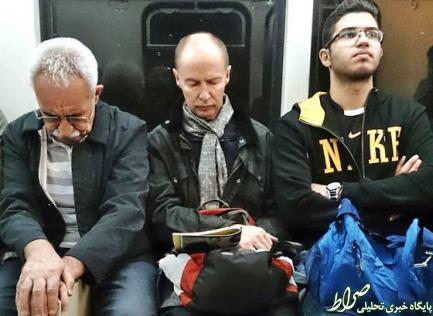 سفیر فنلاند با مترو تهران به محل کارش میرود؟ +عکس