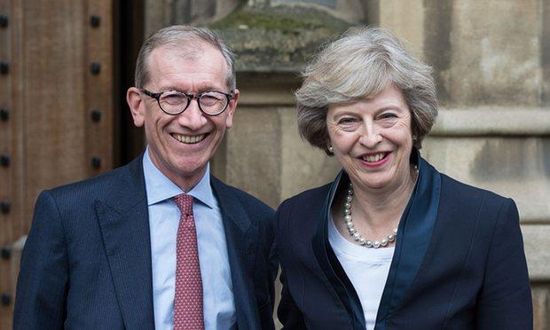 شوهر نخستوزیر جدید انگلیس +عکس