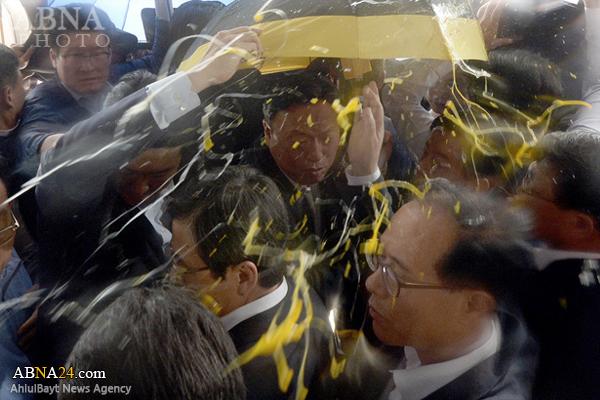 استقبال از نخستوزیر کره تخممرغ +عکس