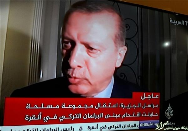 کودتای نظامی در ترکیه/ انتقال اردوغان به مکانی نامعلوم +تصاویر