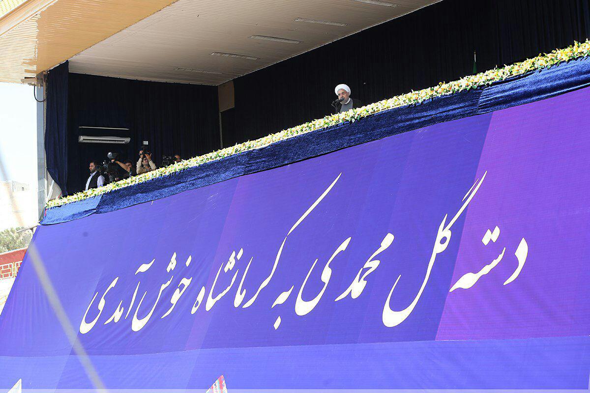 عکس/ کولر گازی جایگاه سخنرانی روحانی!