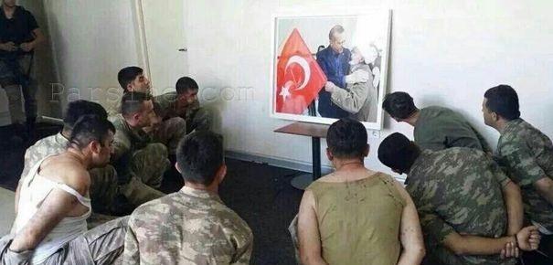 مجازات عجیب برای کودتاچیان + عکس