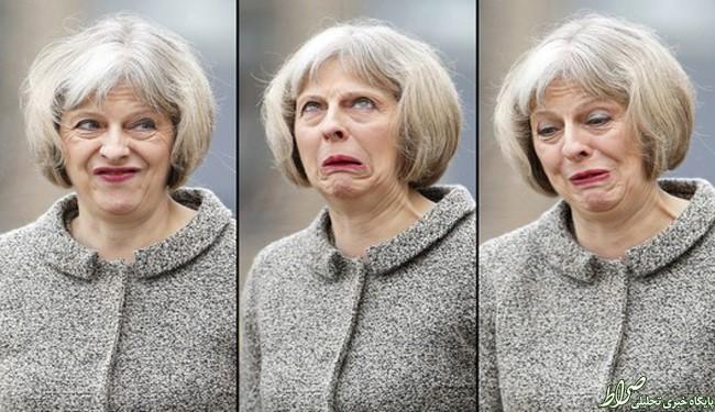 عکس/ چهره عصبی خانم نخست وزیر
