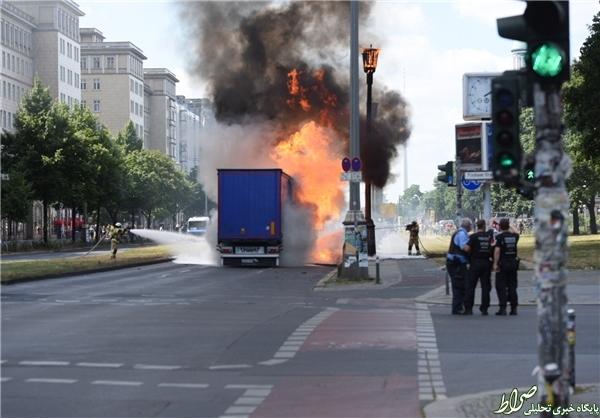شنیده شدن صدای انفجار در برلین