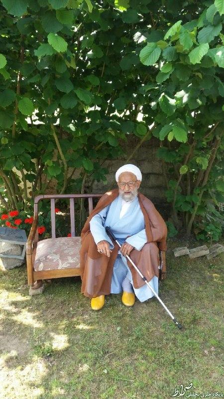 روزهداری پیرمرد 100ساله مازندرانی+عکس
