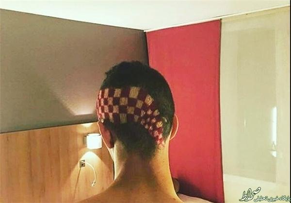 مدل عجیب موی ستاره کرواسی +عکس