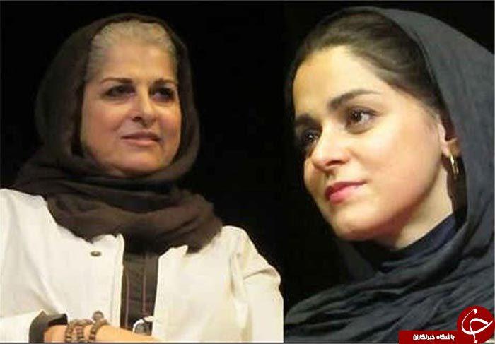 مهاجرت اسماعیل دوست مادرو دخترهای سینمای ایران +تصاویر