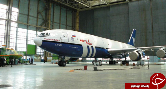 هواپیمای پوتین برای فرار از پایان جهان!+عکس