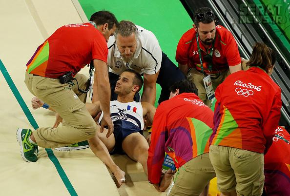 عکس های بسیار دلخراش و تلخ مصدومیت در المپیک ریو 2016