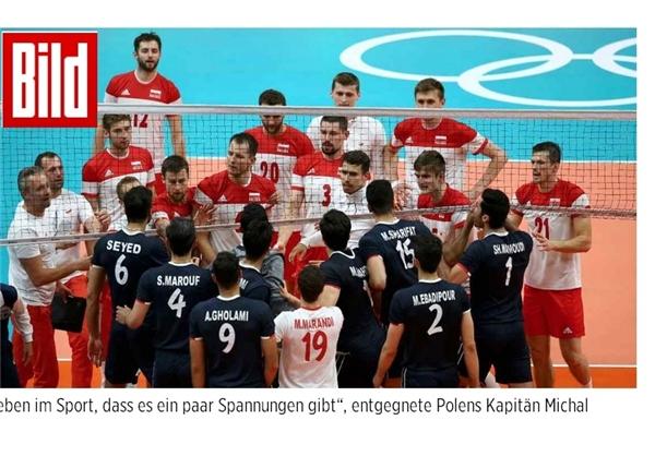 بازتاب درگیری در پایان بازی والیبال ایران و لهستان المپیک 2016