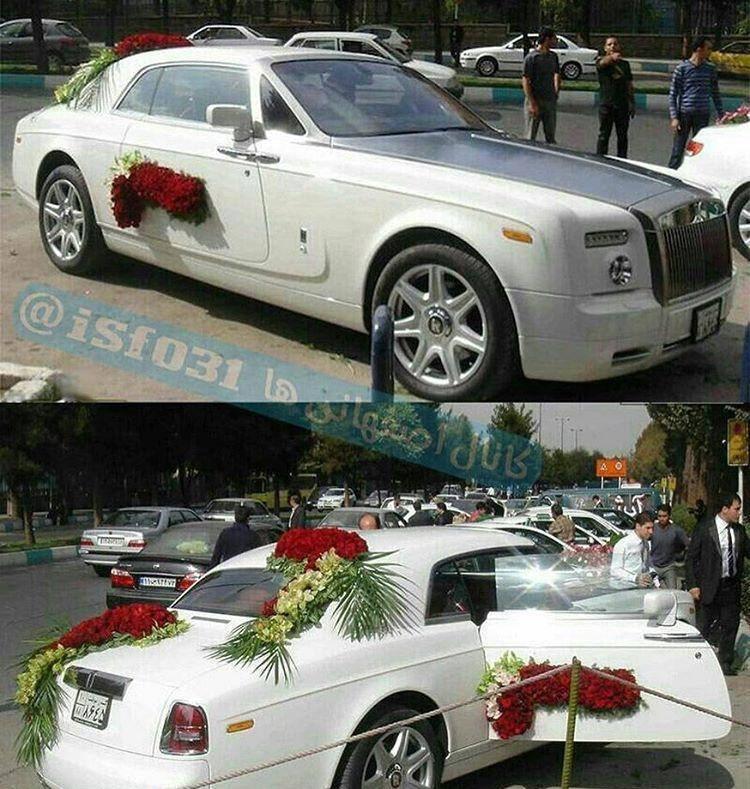 عکس/ گرانترین ماشین عروس ایران!