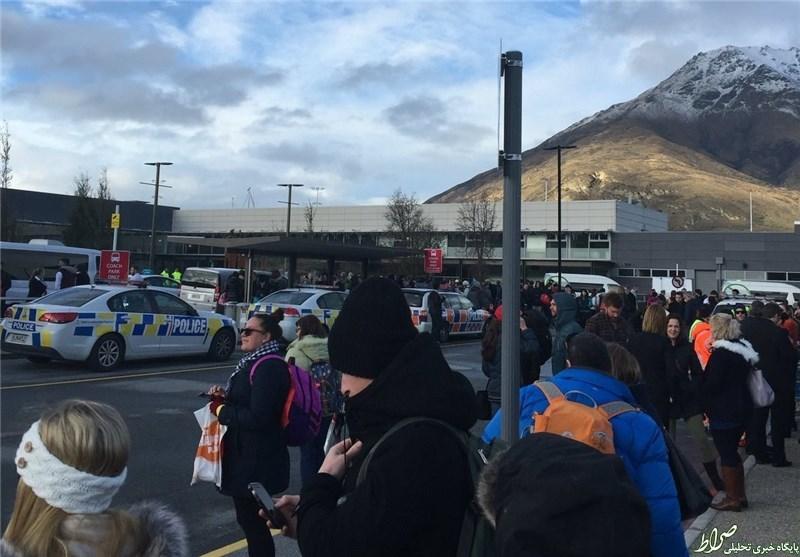 تخلیه فرودگاه نیوزیلند درپی تهدید به بمبگذاری +عکس