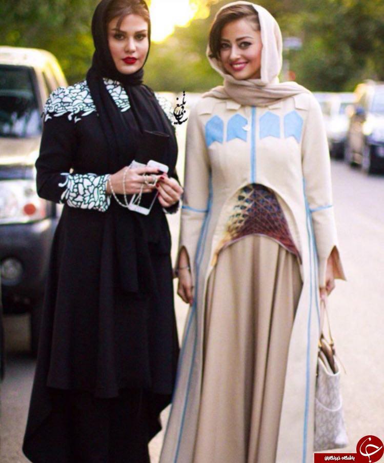 لباس متفاوت خانمبازیگر دریک مراسم +عکس