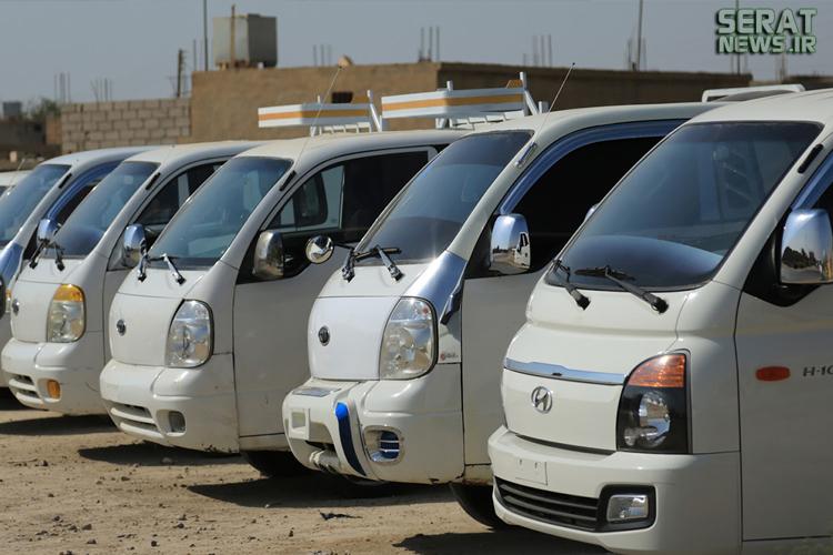 خودروهای لوکس درنمایشگاه خودرو و موتور داعش+تصاویر