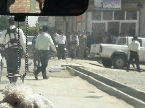 حمله مسلحانه به خودروی ناجا در بوکان