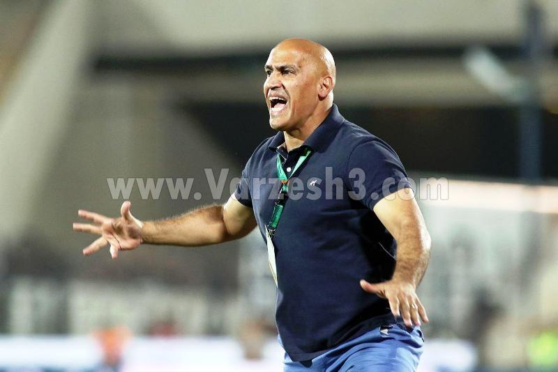 تصاویر/حرکات عجیب منصوریان در ورزشگاه