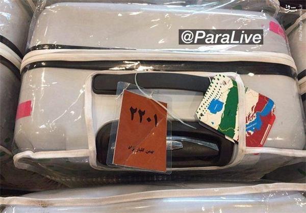 عکس/ تصویر غمانگیز از بازگشت پارالمپیکیها
