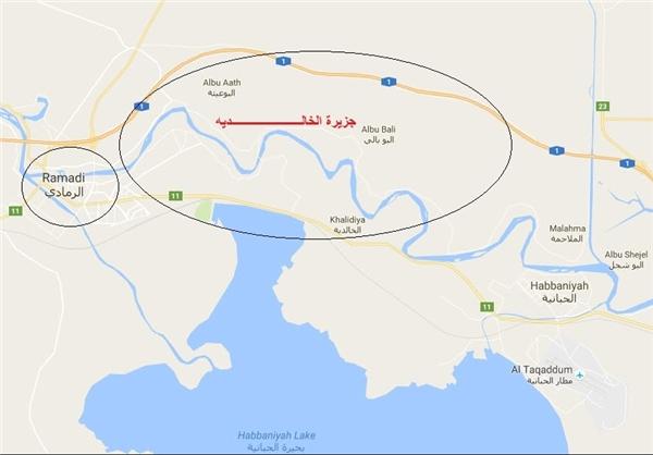 آزادی «جزیره الخالدیه» بعداز 13سال+نقشه