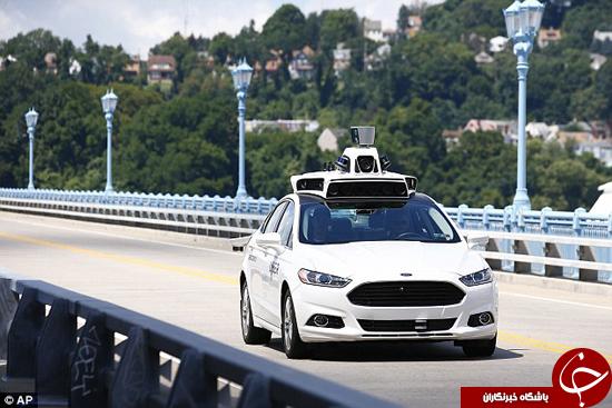 اوبر خودروی بدون راننده به بازار می دهد+تصاویر