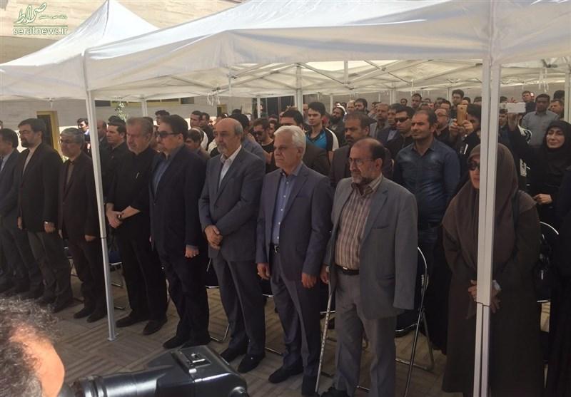 پیکر مرحوم گلبارنژاد تشییع شد