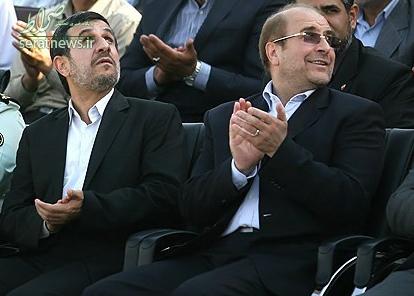 آیا احمدینژاد به صندلی قالیباف چشم دوخته است؟