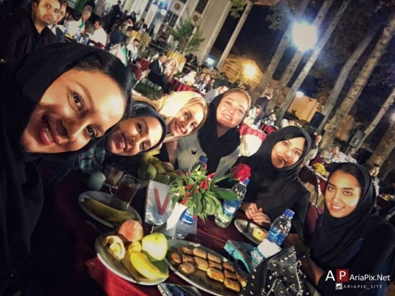 تصاویر/بازیگران زن در مراسم تقدیر از کیمیا علیزاده