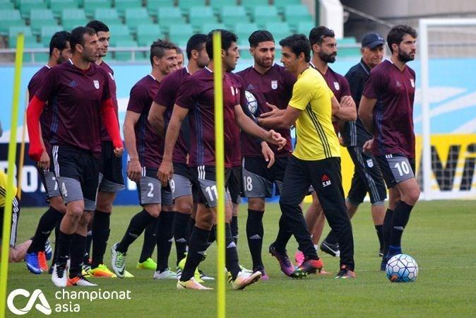 آخرین تمرین تیم ملی فوتبال در تاشکند+تصاویر