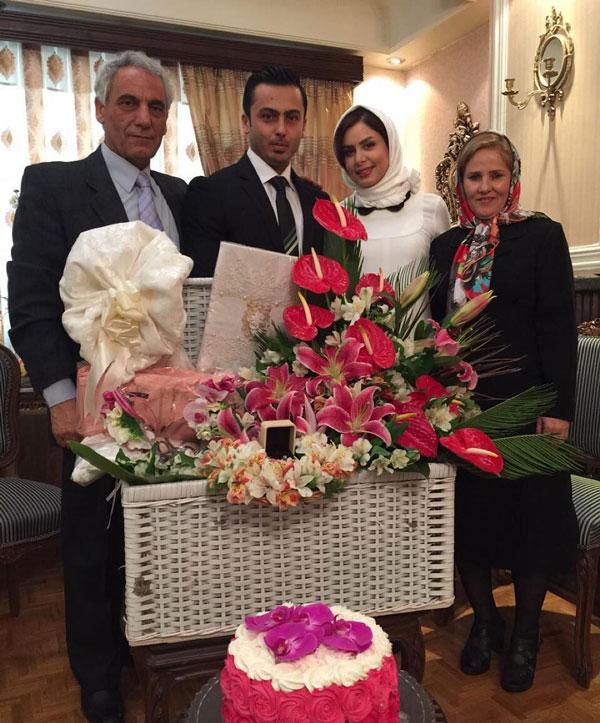 عکس های عروسی خانم مجری