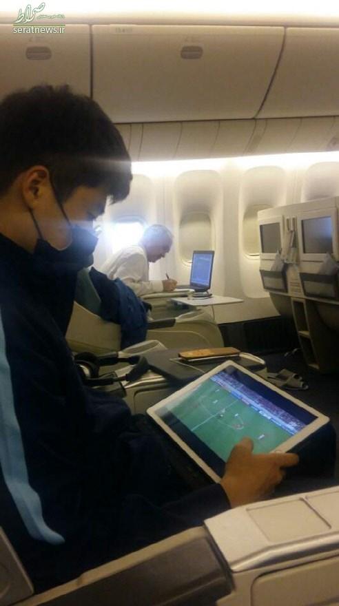 آنالیز ایران توسط کرهایها در هواپیما +عکس