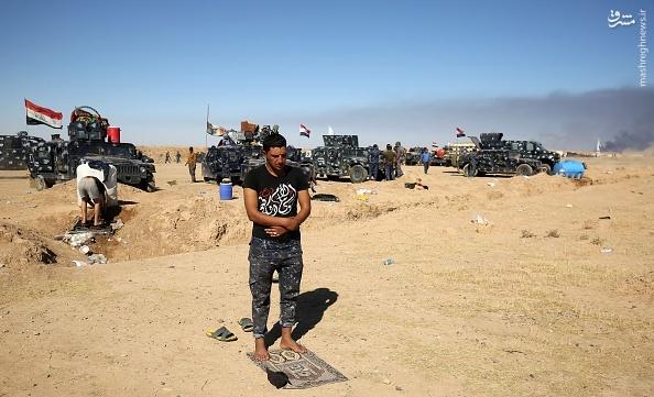 عکس معنادار قبل از عملیات آزادی موصل