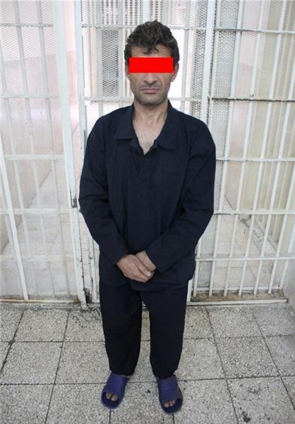 مرد شیشهای ساقی خود را کشت+عکس