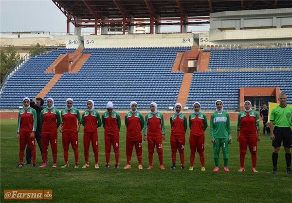 تصاویر/مصاف دختران فوتبالیست در فینال تورنمنت ازبکستان