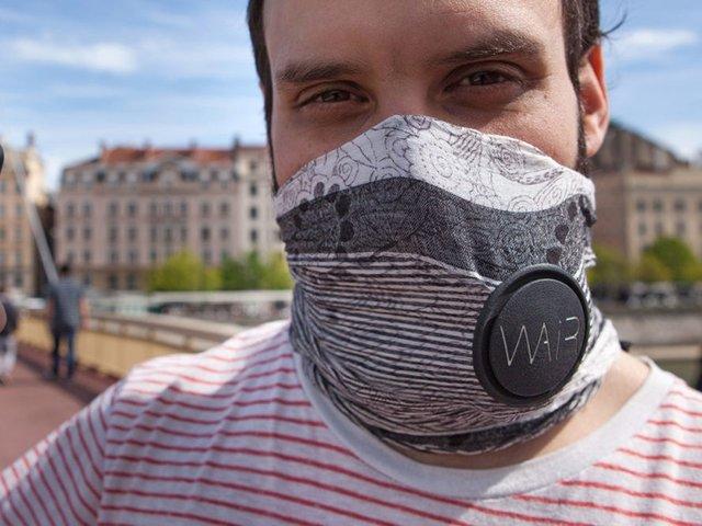 این روسری هوای آلوده را فیلتر میکند+عکس
