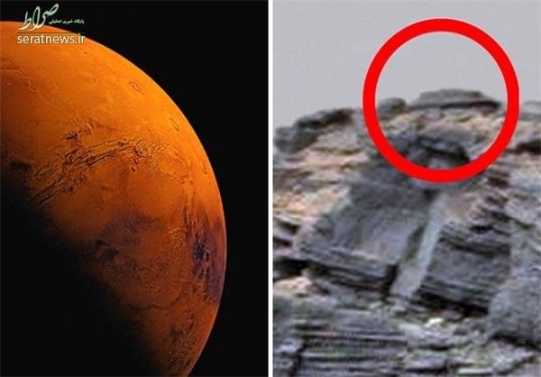 رویت دیسک پرنده در سطح مریخ +عکس