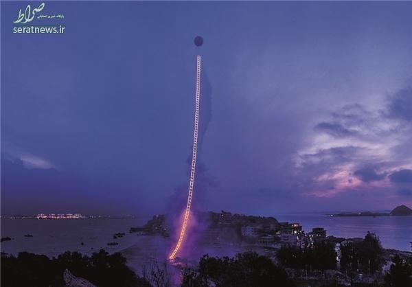 مرتفعترین نردبان آتشی جهان +تصاویر