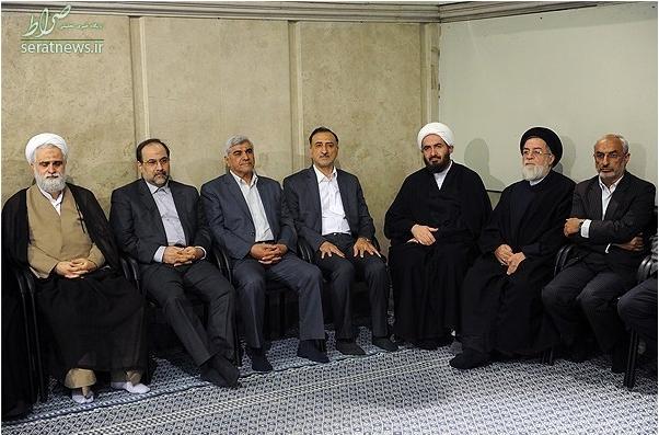 عکس/ دانش آشتیانی در بیت رهبری