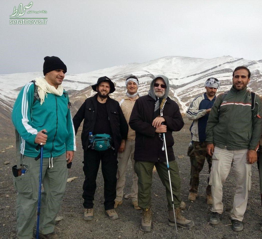 عکس/ کوهپیمایی لاریجانی