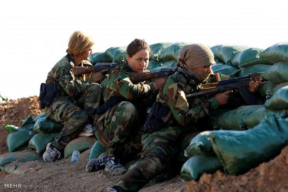 زنان کرد ایرانی در خط مقدم جنگ علیه داعش