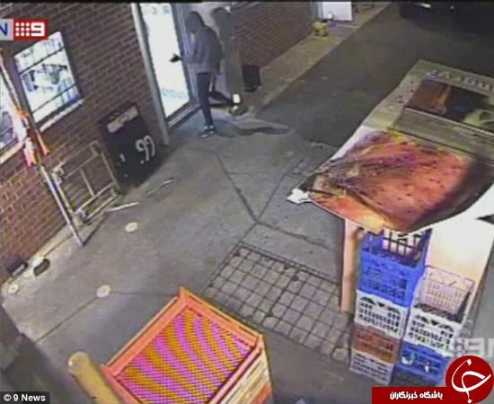 سرقت مسلحانه پیتزا! +تصاویر