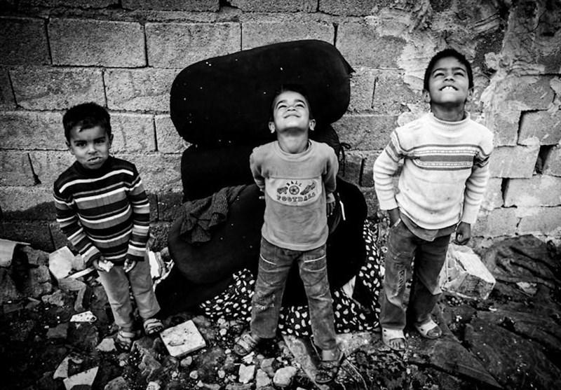 سوسک تنها دلخوشی بچههای تهران+تصاویر