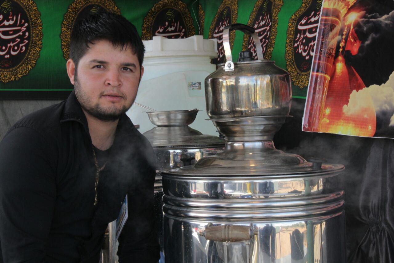 هزینه ویزای عراق برای تمام زائران اربعین بلاغ مازندران - موکب مهاجرین افغانستانی در مسیر زائرین ...