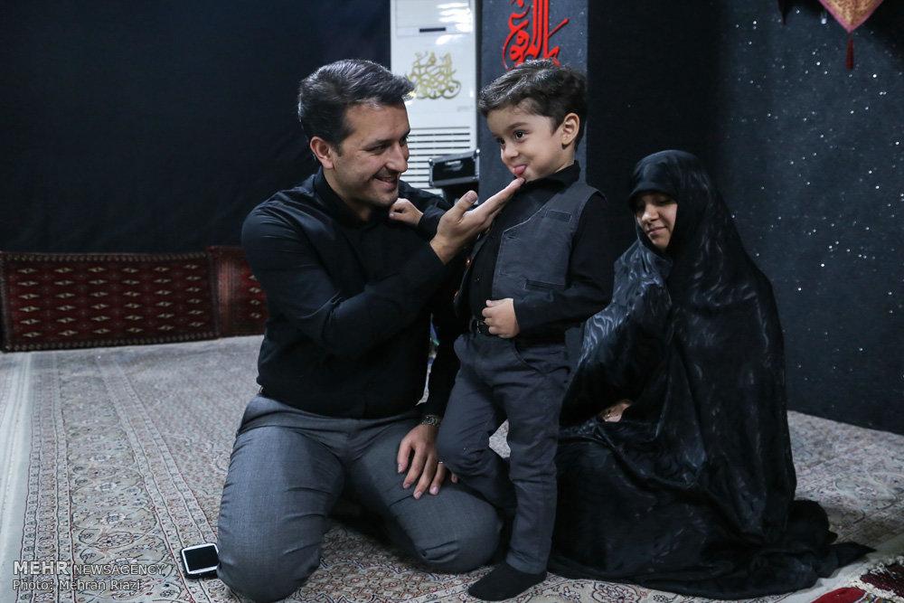 مداح خردسال: از امام حسین(ع) یک «شلوار آبی» خواستم! +تصاویر