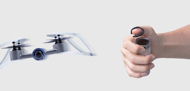 این پهپاد را با شستتان کنترل کنید! +عکس